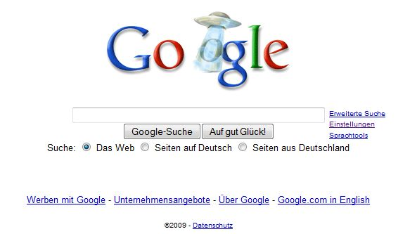 Google Doodle - Rätselhaftes Phänomen