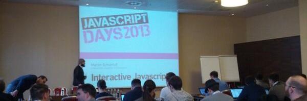 #Javascript-Days – Tag 2 http://t.co/YpoR3jklI4
